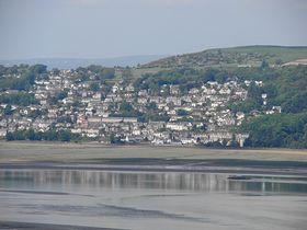 Grange from Arnside © Jeffrey Darlington
