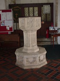 Church Font © Peggy Cannell
