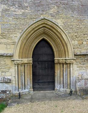 Ancient Doorway St Mary's Church