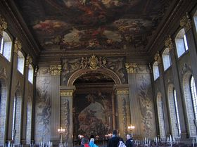 The Painted Hall - The Old Royal Naval College © Janet Daniels