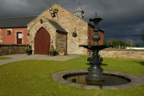 The Church at Gretna Green, Scotland.
