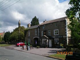 The crown inn, Grewelthorpe