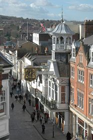View of Guildford High Street © Sue Waugh