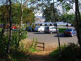 Car Park at Pickerings Pastures,Halebank (Great views across the River Mersey)  © Vincent Phillips