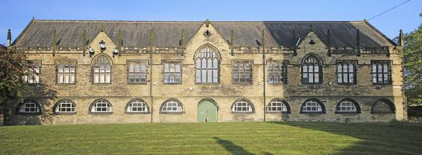 Causey Hall in Halifax - a former parish school now converted to offices