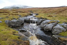 Mountain Stream from Pen-y-Ghent © Mr Philip Moon ( Hkt,B )