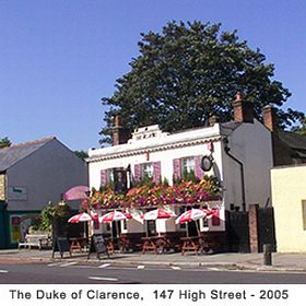 The Duke of Clarence public house © Helen Hurley & Jan Casson