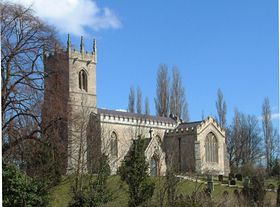 Harworth Parish Church © David K. Perry