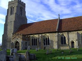 Church of St Mary, Hawkedon © Christopher Aylmer