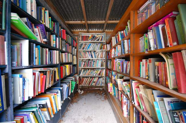 Bookshelves Galore!