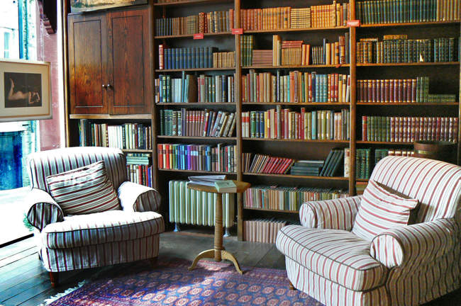 Bookshop with Reading Area