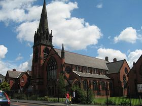 Christ Church Haydock United Reformed Church (c) Sue Adair via Wikimedia Commons