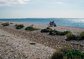 Relaxing, Hayling Island © Jeanette Cox