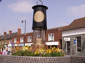 The Hednesford Miners Memorial © Fergus Drake