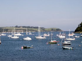 View down river from  Helford point © PwBatchelor