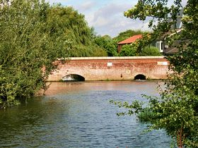 Bridge over the River Wensum © Peggy Cannell