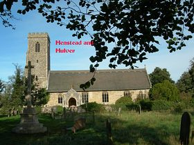 Henstead and Hulver Church © Peggy Cannell