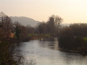 River Wye at Hereford © Peter Shortall