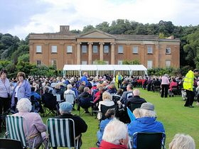 Songs of Praise at Himley Park © D M Turley