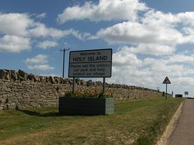 Welcome to Holy Island © Kelvin Brooks