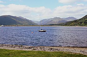 Holy Loch and surrounding hills © John Mcleish www.images-scotland.com