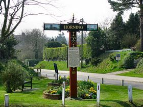 The Village Sign © Peggy Cannell