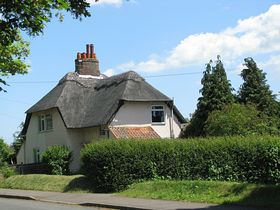 Attractive House opposite the Village hall. © Peggy Cannell