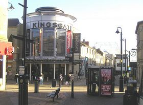 Kingsgate Shopping © Geoff. Taylor