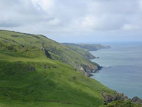 Coast line to west of Ilfracombe from the Torrs footpath © Peter Smith