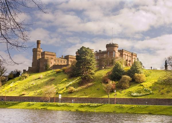 Inverness Castle on a sunny day, Inverness
