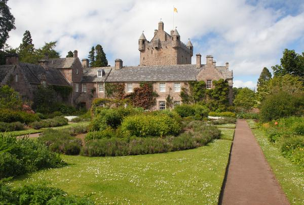 Cawdor Castle from the gardens