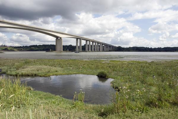 Orwell Bridge, Ipswich, Suffolk