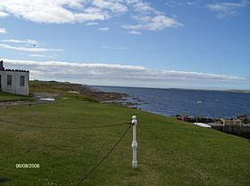 Seaward looking West © James E Craig