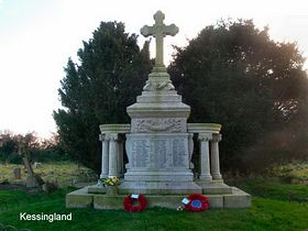 Kessingland War Memorial © Peggy Cannell