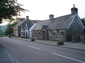 Kilmartin - the shop and some houses © Thomas