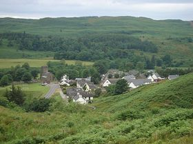 Kilmartin - view from the nearby hill © Thomas