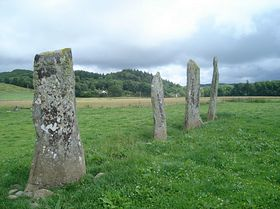 Kilmartin - the standing stones © Thomas