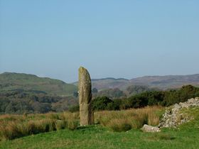 Strontolier  Standing stone
