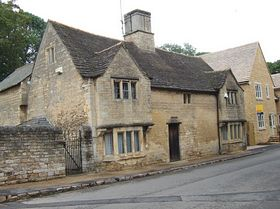 Tudor House on the main street. © Geoffrey Hall