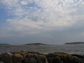 Rough Island from Kippford © B Carr
