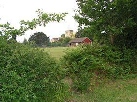 View of Kirdford © Laura
