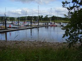 Marina on River Dee Kirkcudbright © Logan Laurie