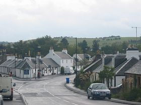 View of Kirkmichael © Brenda Collins