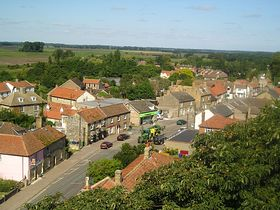 From the top of the church tower © Mandy Clark
