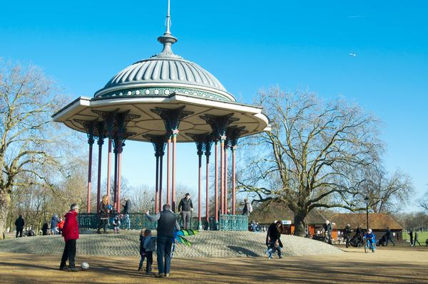 Bandstand in Clapham Common Park, Lambeth