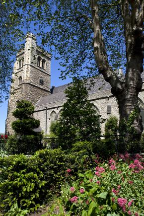 St Mary at Lambeth Church which also contains the Garden Museum