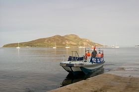 The Holy Isle Ferry © John & Louise Cunningham