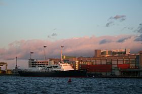 The Royal Yacht Britannia, Leith © Ian Dick