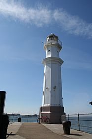 Newhaven Lighthouse near Leith © Ian Dick