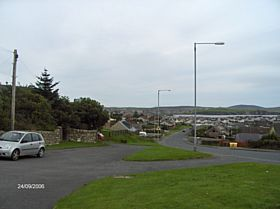 Entering Lerwick from the south © James E Craig